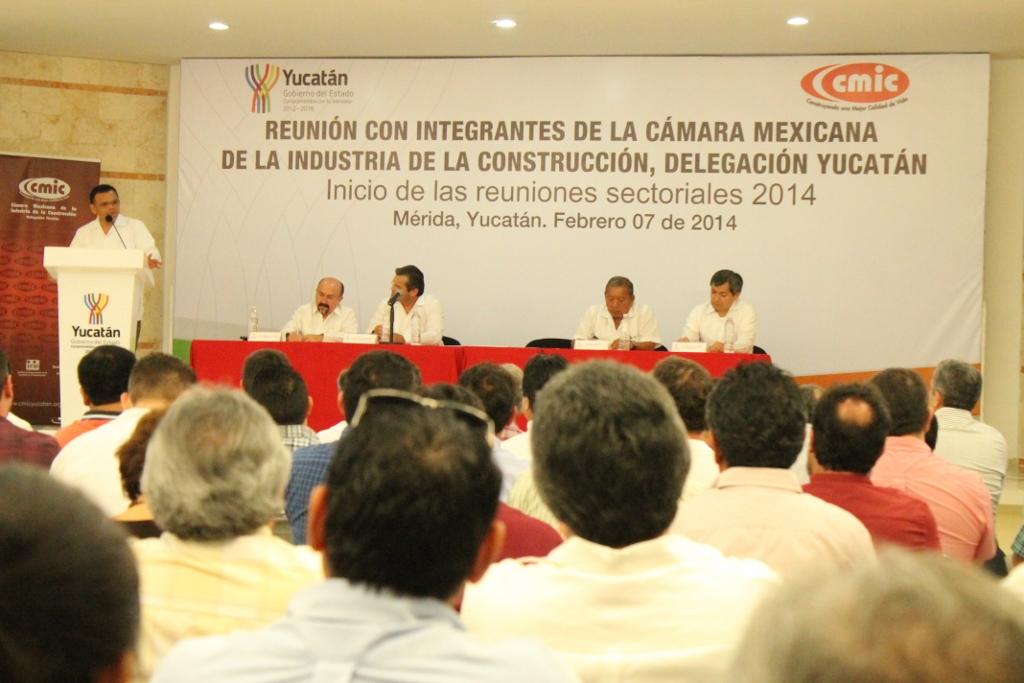 Reuniones sectoriales CMIC Yucatán 2014