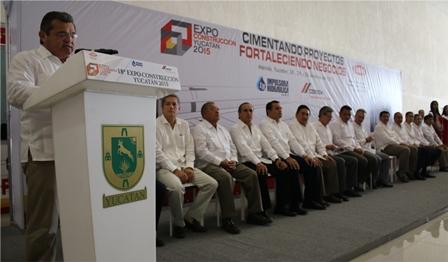 Inauguración Expo Constucción 2015