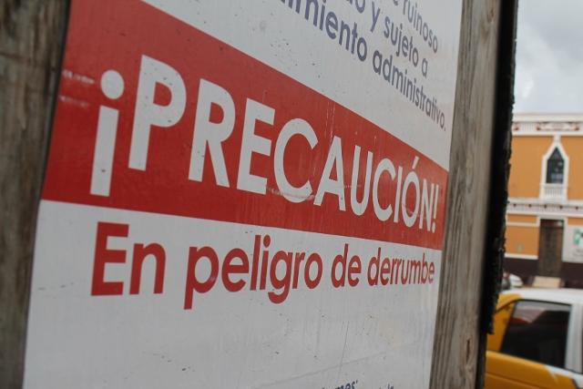 Colapso edificios Mérida