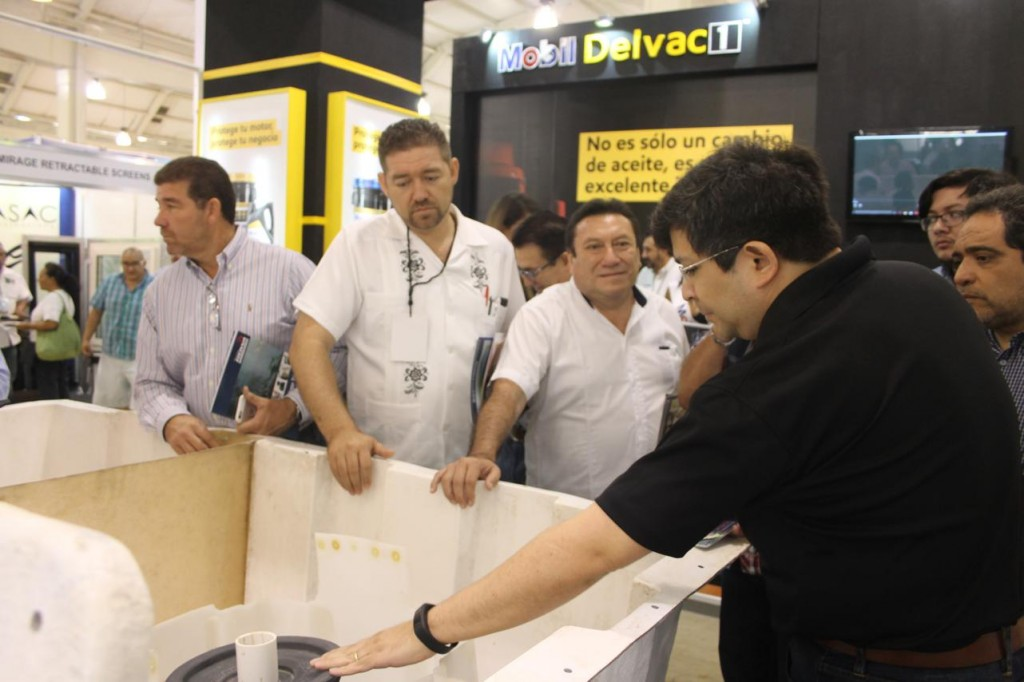 expo construccion yucatan 2016 stands