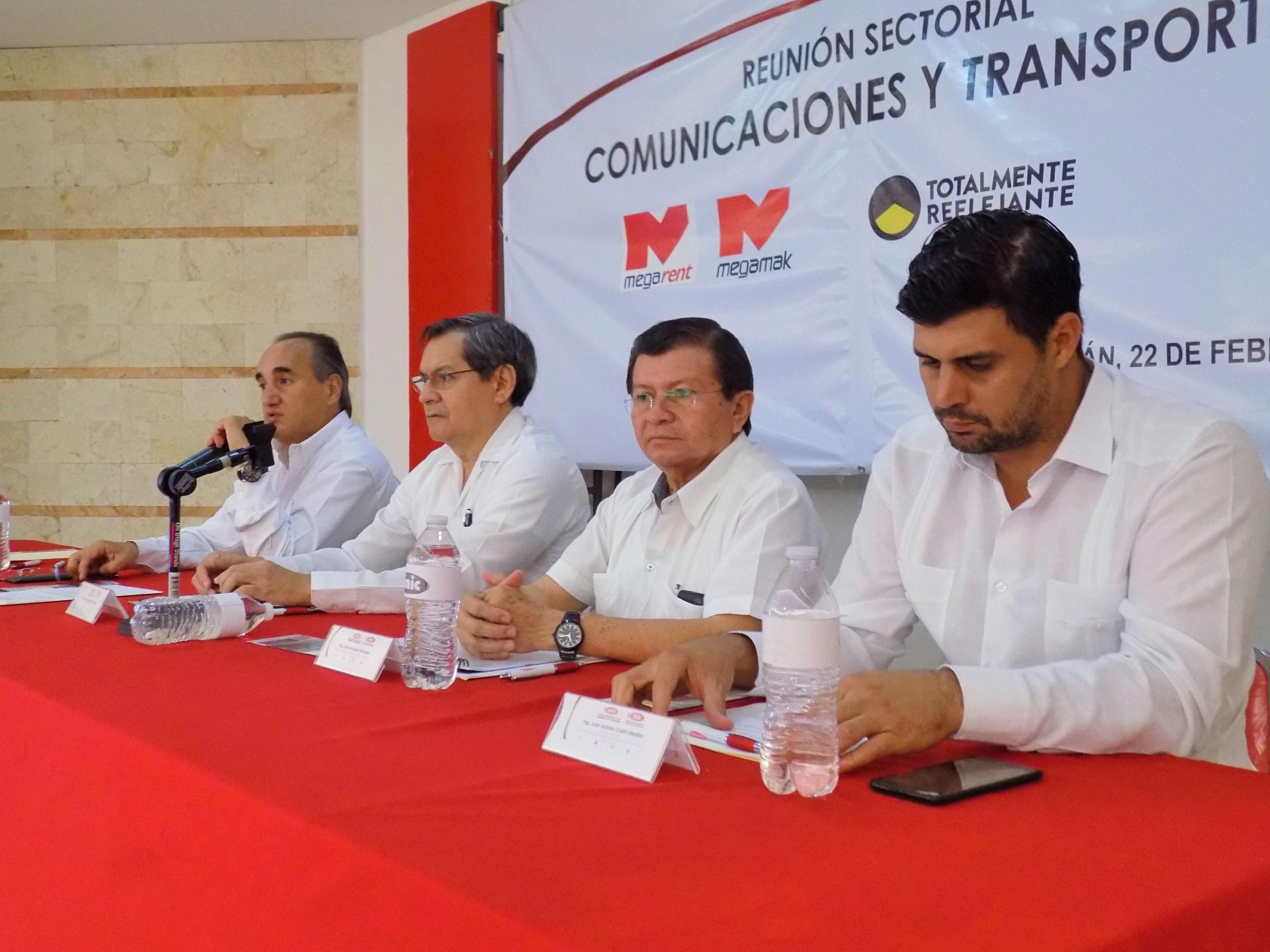 Reunion sectorial comunicaciones y transportes