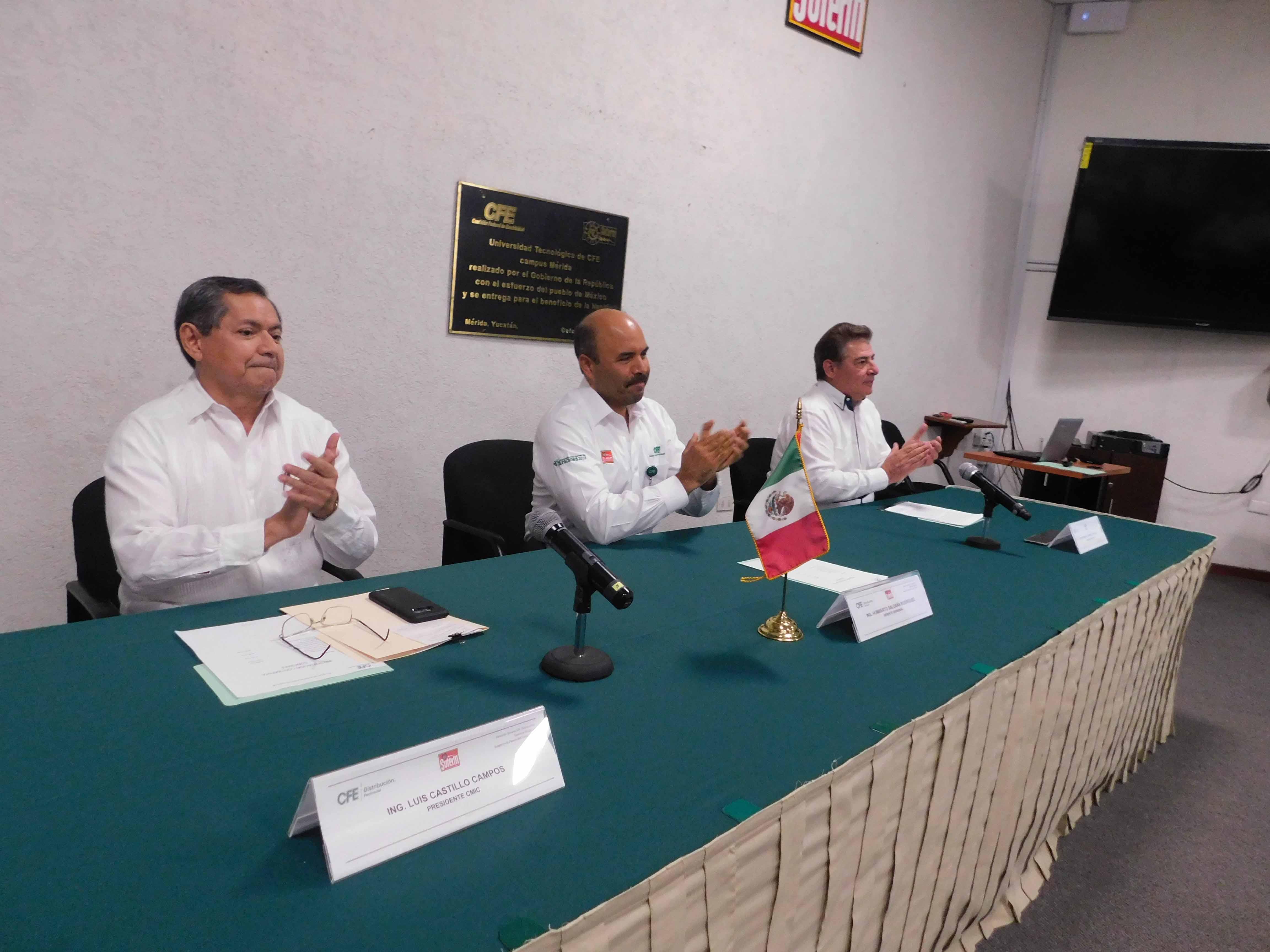 CMIC Yucatán y CFE unen fuerzas