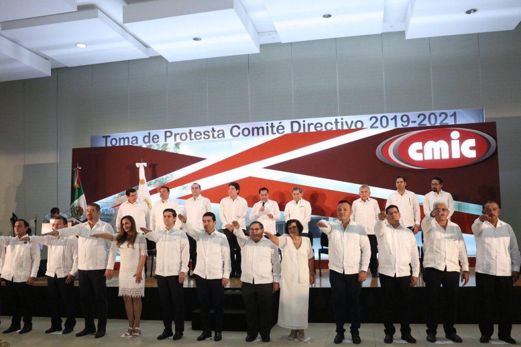 Toma de Protesta CMIC Yucatan