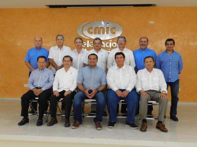 CMIC y Renán Barrera cimientan relaciones de trabajo